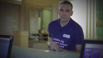 Пране на мокети - рекламно видео от Видатекс