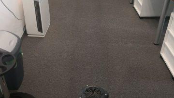 Пране на мокети в офиси